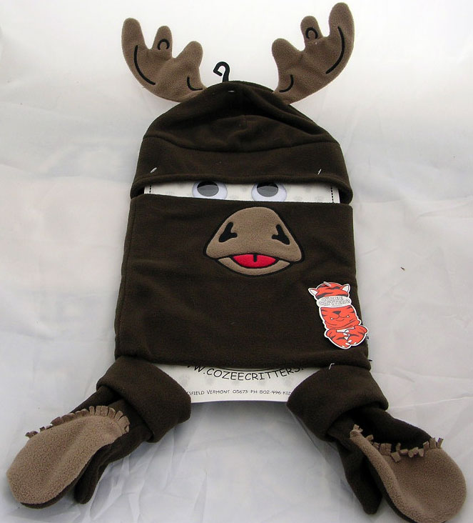 Cozee Critters Moose Winter Set